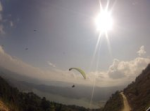 Paragliding fail