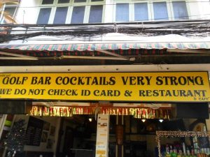 very strong cocktails